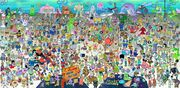 SpongeBob SquarePants characters from all the seasons