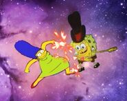 Marge vs. SpongeBob