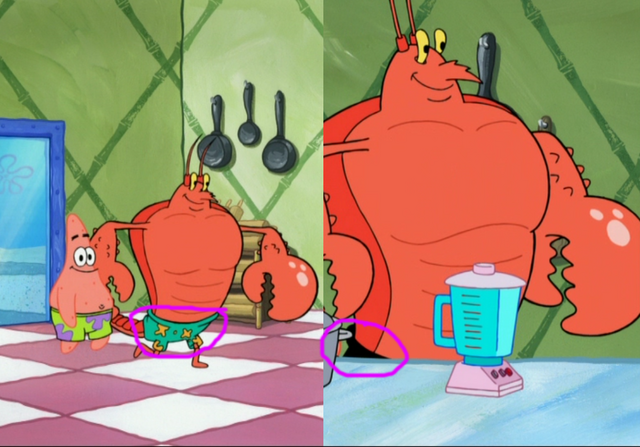 File:Larry shorts changes color in You Don't Know Sponge.png