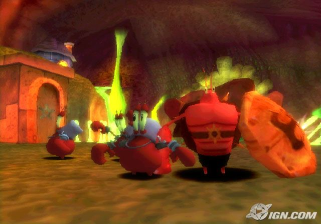 File:3 3D Krabs & 1 3D Lobster.jpg