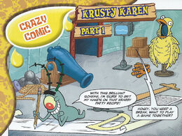 SpongeBob SquarePants Krusty Karen Comic