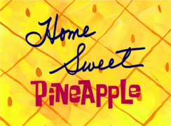 Home Sweet Pineapple Title Card