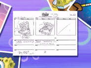 The Splinter storyboard panels-2