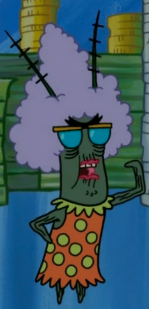 Plankton's Grandmother