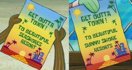 Seashores or sunny shore