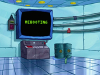 SpongeBob SquarePants Karen the Computer Rebooting-1