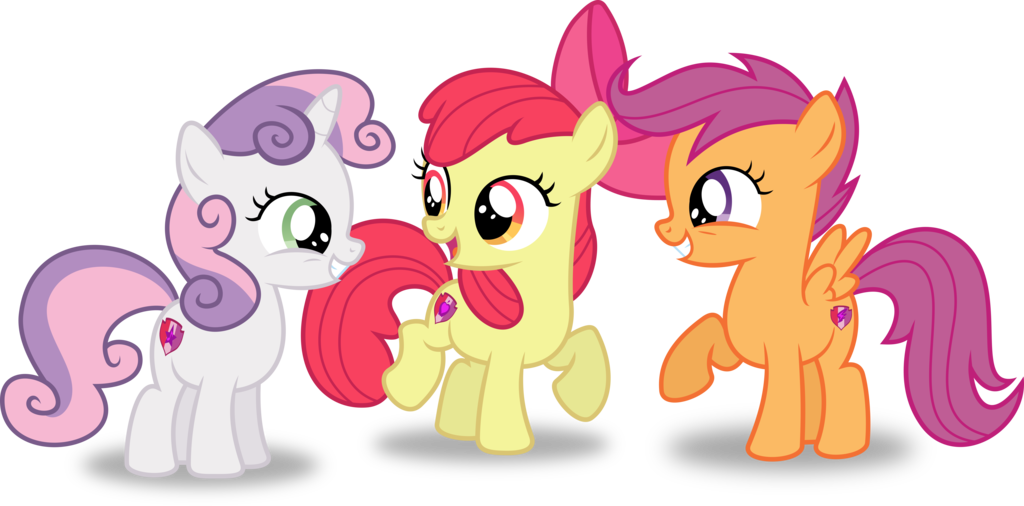 cutie mark crusaders coloring pages - the cutie mark crusaders spongebob friends adventures