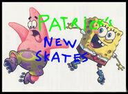 Patrick's New Skates Title Card