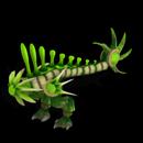 Emerald Toxiraptor By MilkAndCookies