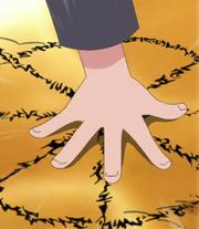 Naruto using Summoning Technique