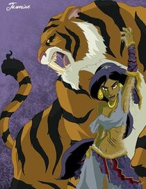 Jasmine Princess Horror