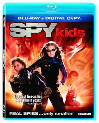 Spy Kids Blu-ray