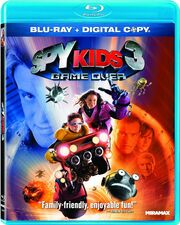 Spy Kids 3 Blu-ray