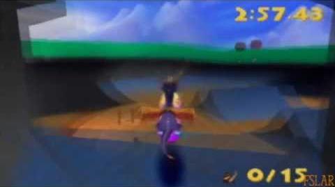 Spyro Year of the Dragon - 100% - Sunny Villa - Part 2