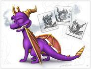 LoS Spyro concepts