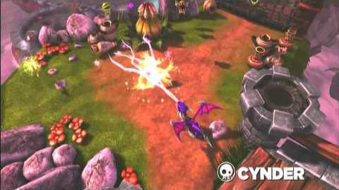 Skylanders Spyro's Adventure - Cynder Preview Trailer (Volts and Lightning)
