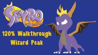 Spyro the Dragon 120% Walkthrough - 16 - Wizard Peak
