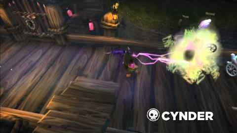 Meet the Skylanders Cynder (extended)