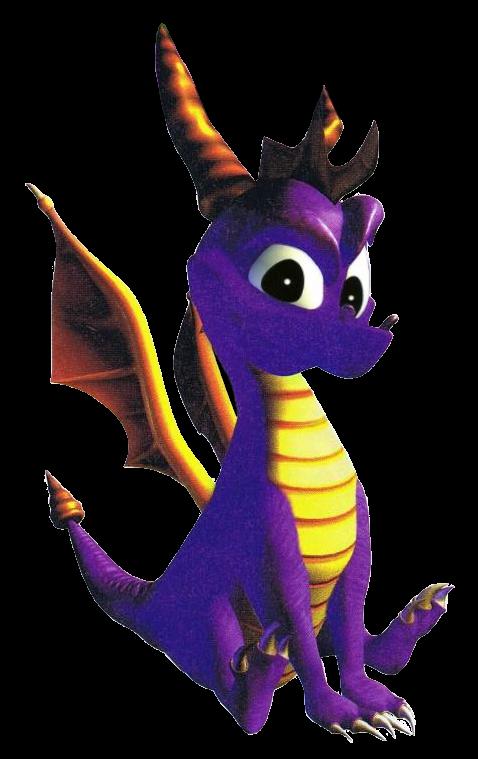 Spyro 1 - Sitting