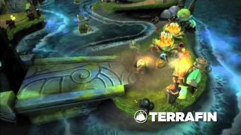 Skylanders Spyro's Adventure - Meet the Skylanders Terrafin