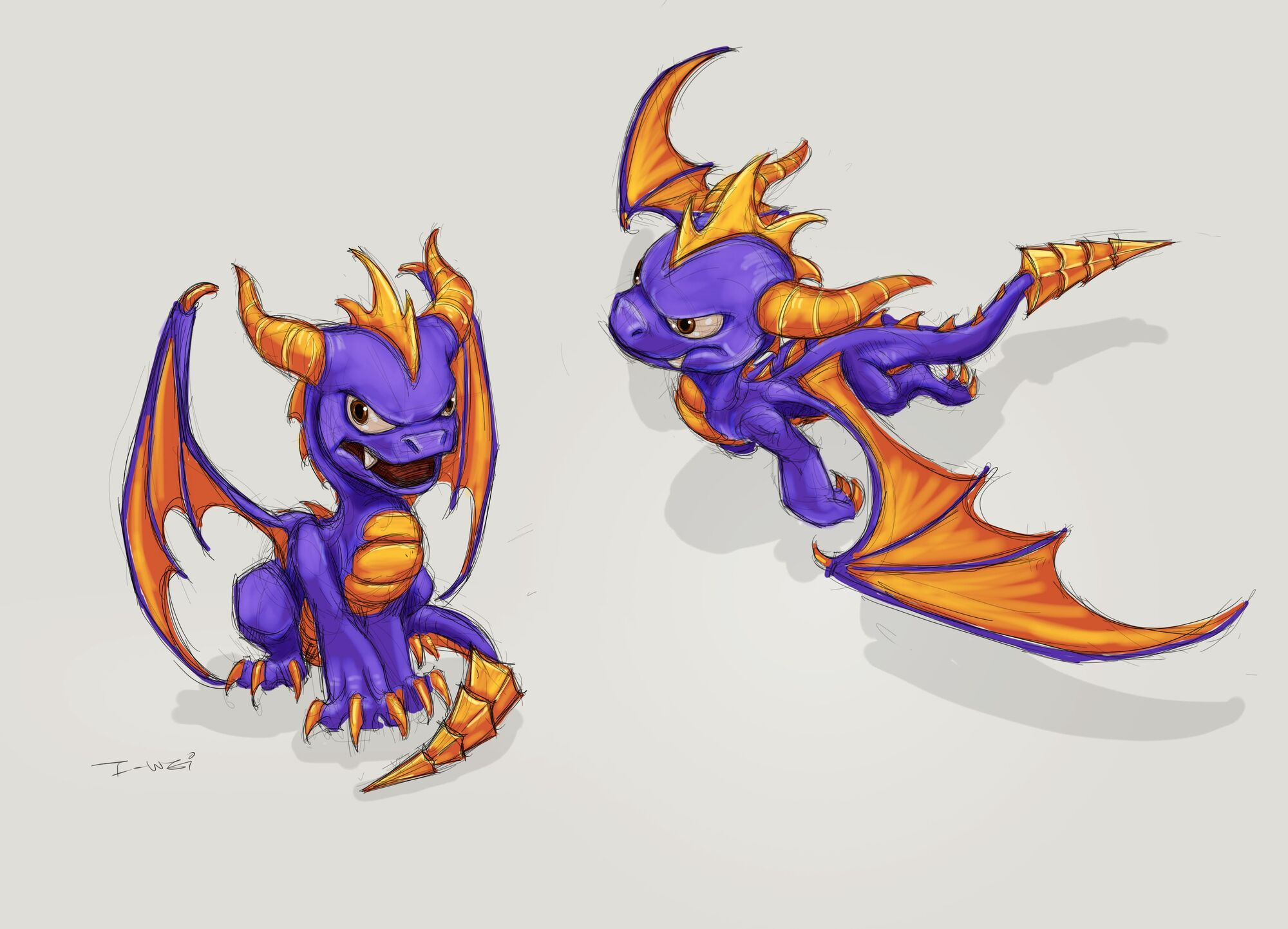 image spyro concept art jpg spyro wiki fandom powered by wikia