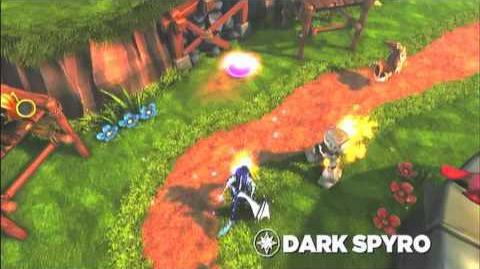 Skylanders Spyro's Adventure - Dark Spyro Preview (Lights Out)