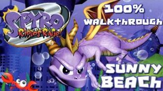 Spyro 2- Ripto's Rage! 100% Walkthrough - 5 - Sunny Beach