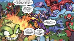 Spyro Ninjini StinkBomb Comic