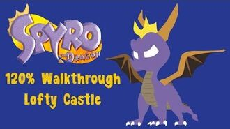 Spyro the Dragon 120% Walkthrough - 27 - Lofty Castle