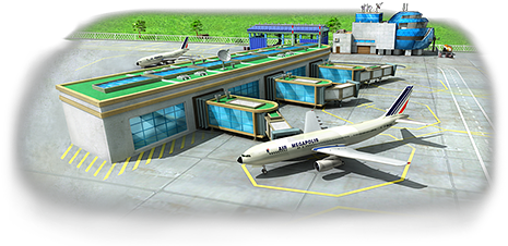 Passenger Airplane Artwork
