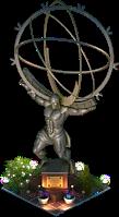 Atlas Statue (Night)