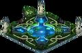 Fountain Garden (Night)