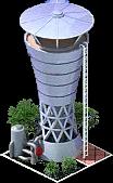 Resbuilding Modern Water Tower