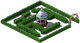 Decoration Hedge Maze