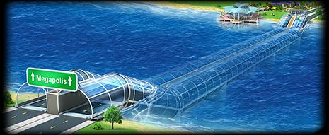 Underwater Tunnel Artwork