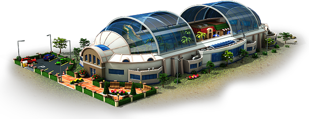 Ocean Dome Artificial Beach Artwork