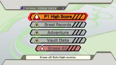 SSBB Erase Data
