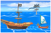 Pirate Ship Icon SSBWU