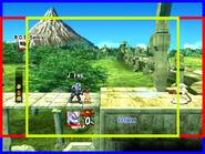 SSBB 4x3 emulator hack comparison