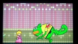 Super Paper Mario Francis Boss Battle