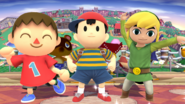 Villager Ness and Toon Link