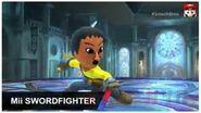 Mii swordfighter Intro