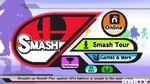 Smash Bros Wii U Main Menu