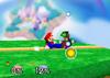 Mario Down tilt SSB