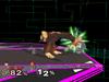 Donkey Kong Floor attack (back) SSBM