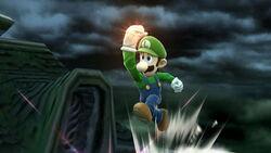Luigi Super Jump Punch SSBWU