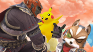SSB4-Wii U Congratulations Pikachu All-Star