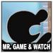 Mr. Game & Watch Icon SSBWU