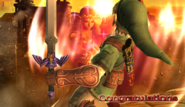 ZeldaSheik Congratulations Screen Classic Mode Brawl