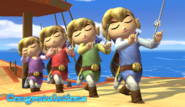 Toon Link Congratulations Screen All-Star Brawl